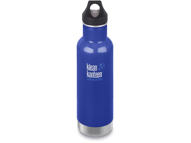 Klean Kanteen Classic Vacuum Insulated Bottle Loop Cap 592ml Coastal Waters